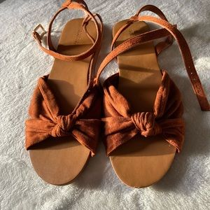 Forever 21 brown sandal